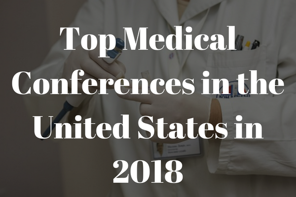 top medical conferences in america in 2018