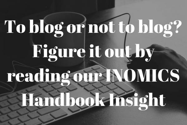 should I start an economics blog?