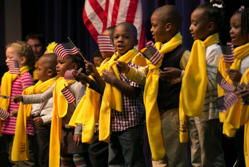 États-Unis - Semaine du choix d′école : Un moment de lumière et d′inspiration
