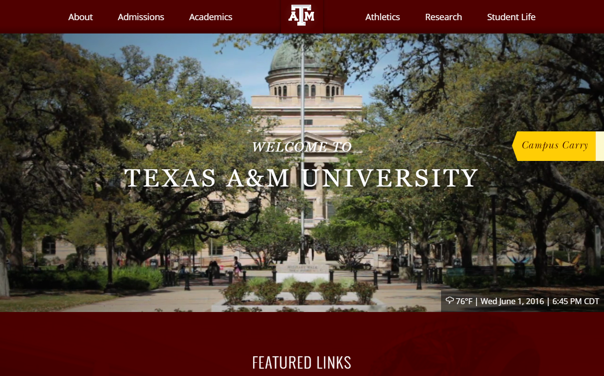 Université A&M du Texas
