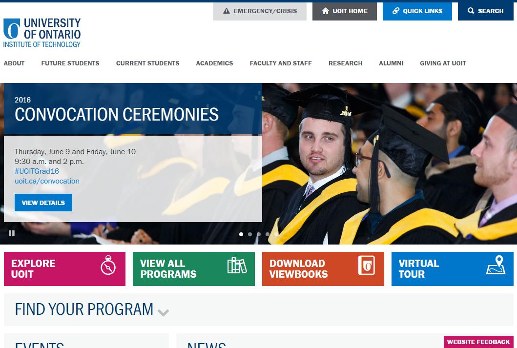 Institut de Technologie de l'Université de l'Ontario
