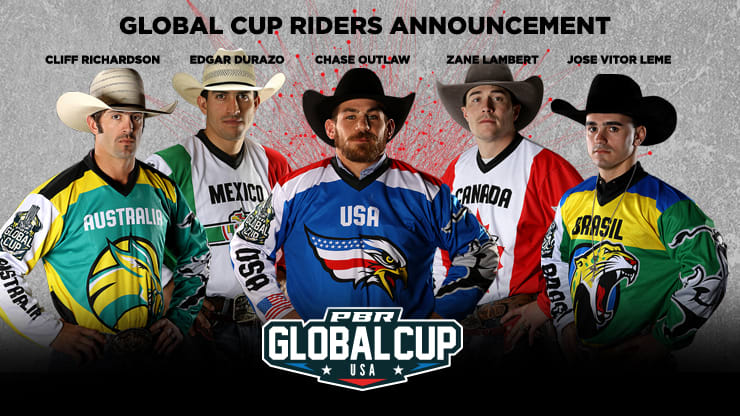 PBR announces next rider selections for first-ever Global Cup USA