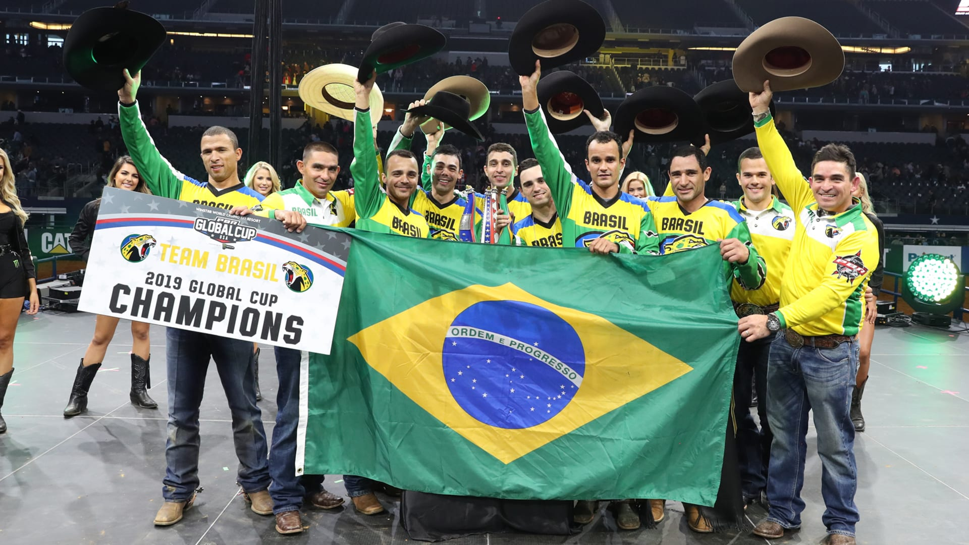 Team Brazil wins 2019 PBR Global Cup USA
