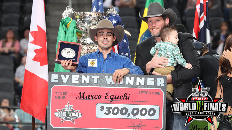Eguchi wins 2018 PBR World Finals