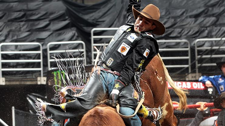 First PBR Major Iron Cowboy 