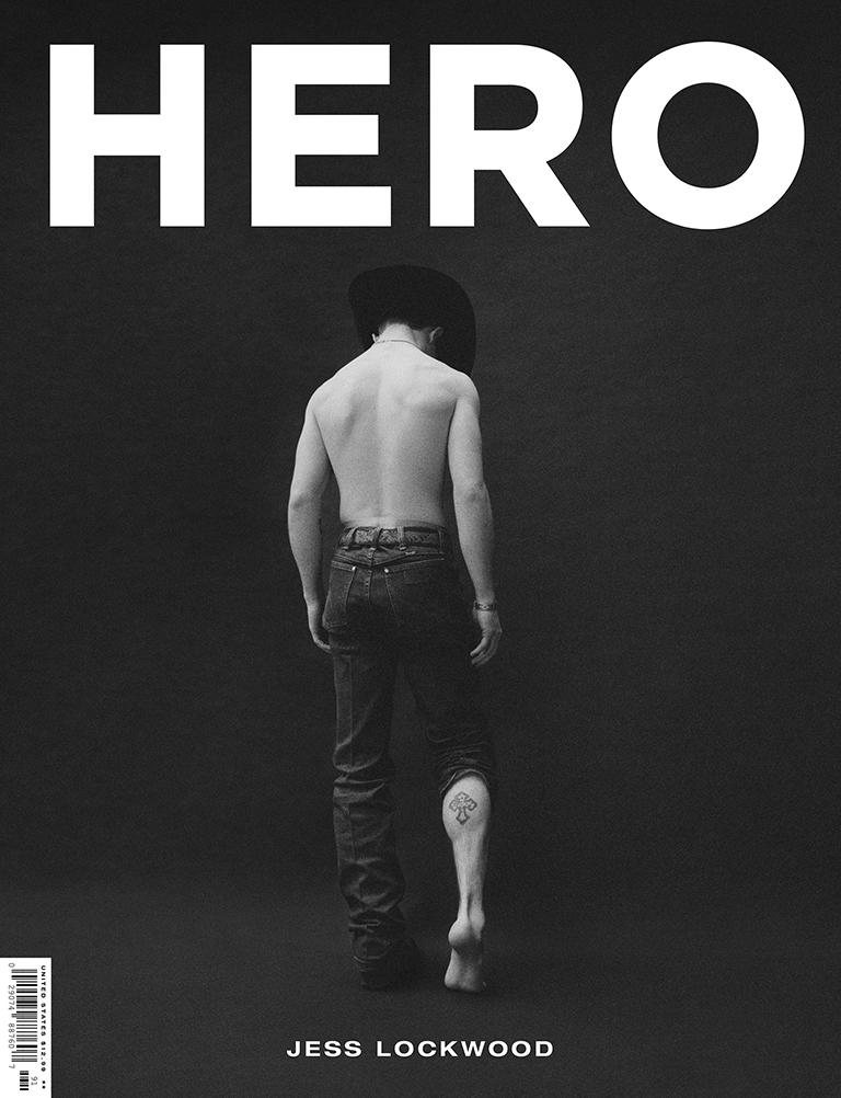 Jess Lockwood HERO magazine cover