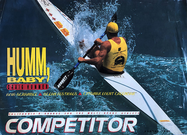 Craig Hummer Kayak Magazine cover