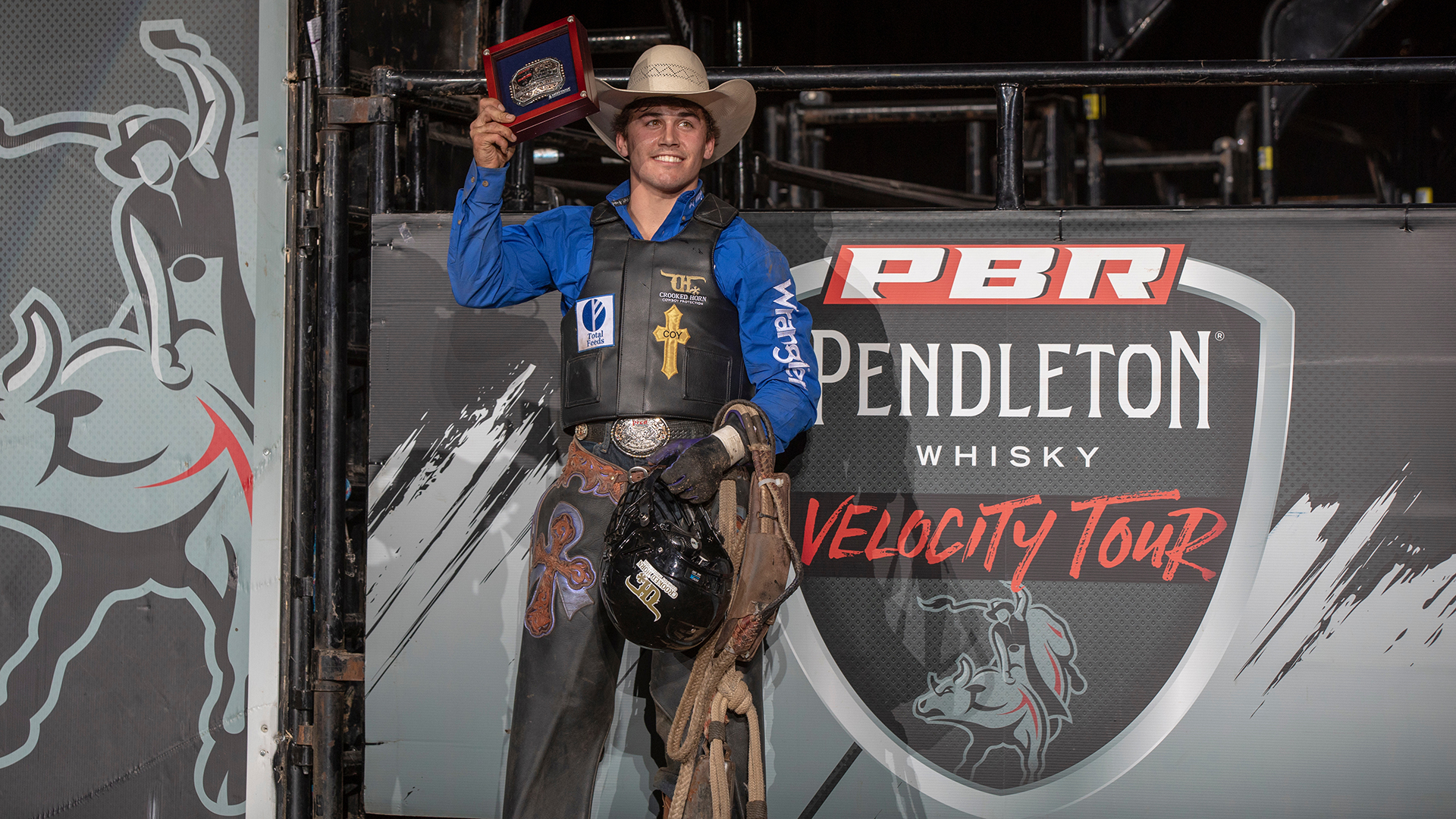 Swearingen wins career-first Pendleton Whisky Velocity Tour event in Wichita