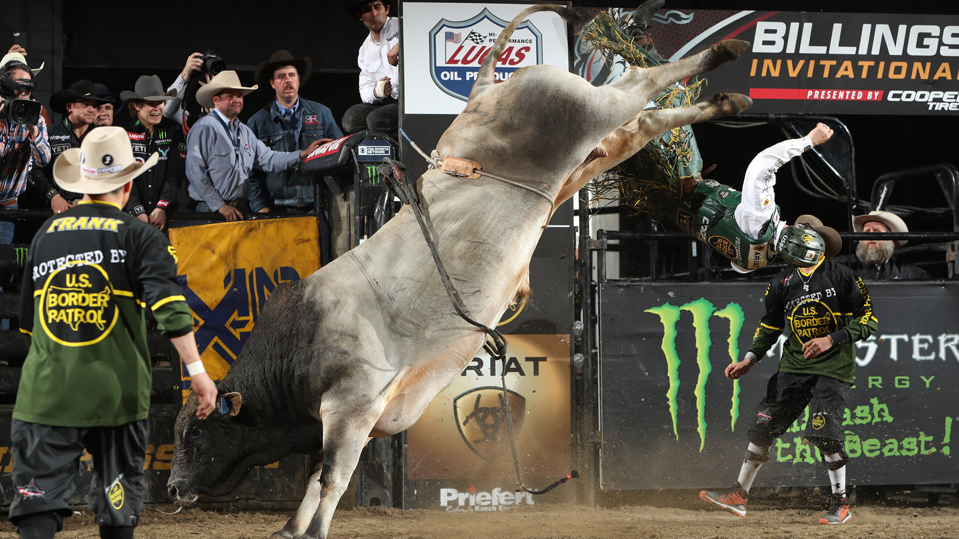 SweetPro's Bruiser takes down two World Champions in Billings