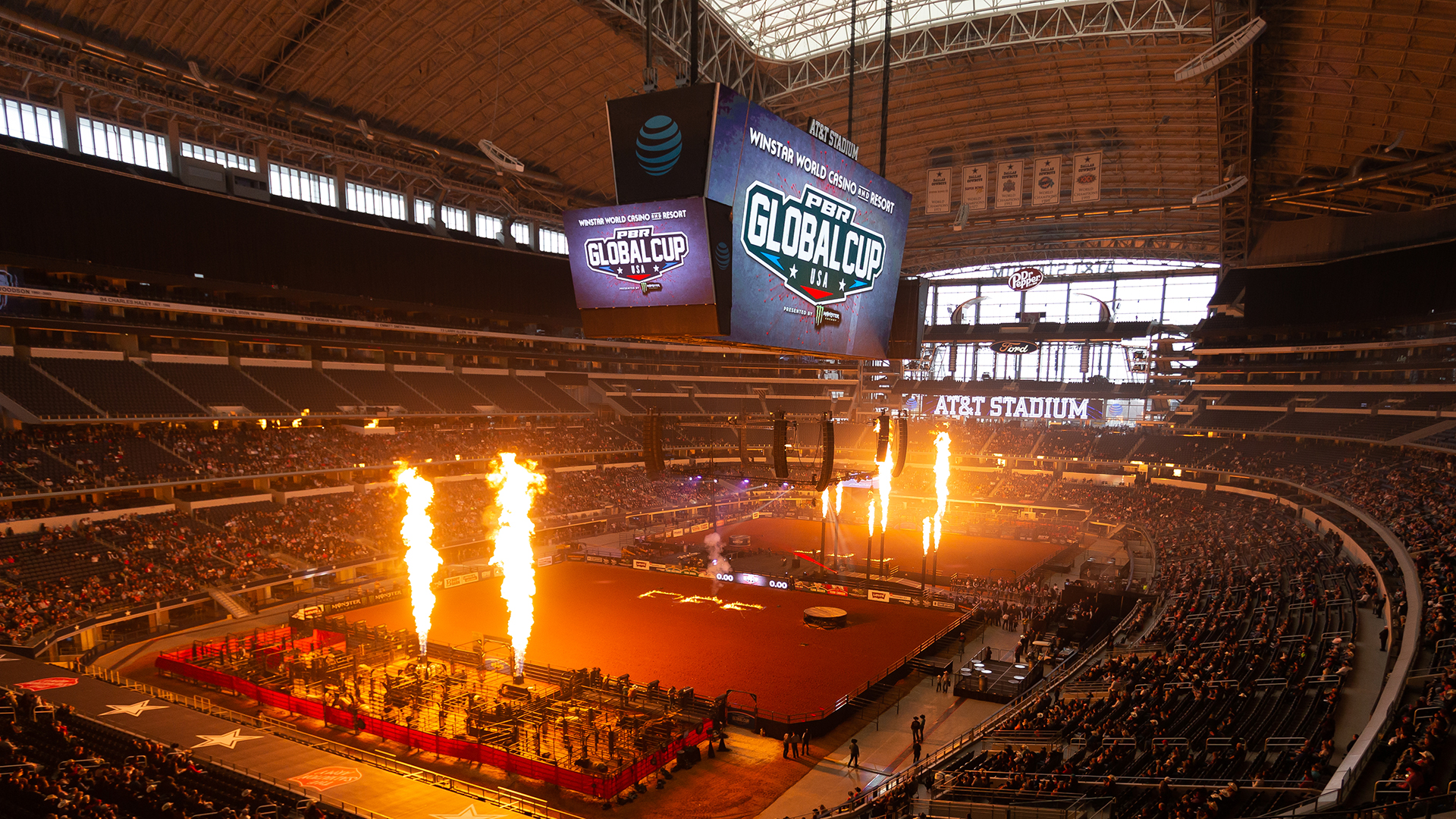 PBR Global Cup returns to AT&T Stadium on Feb. 15-16