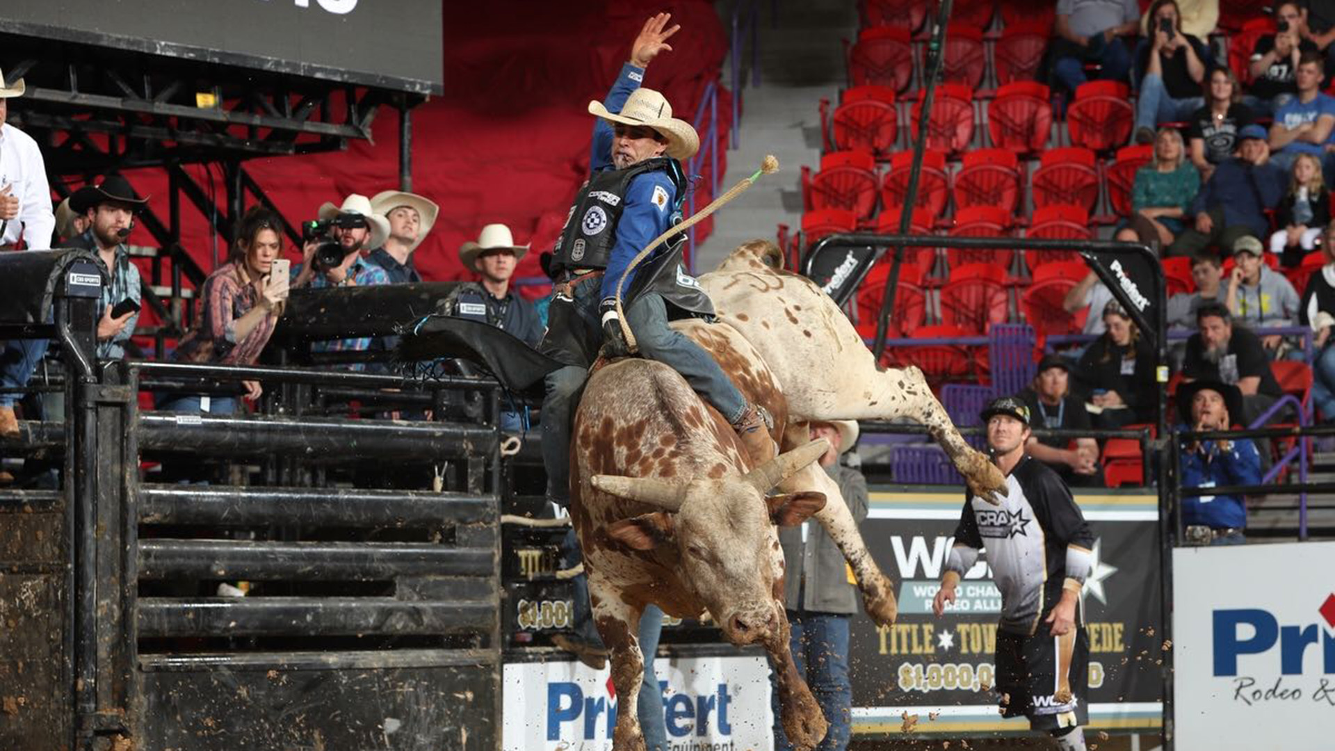 Vieira wins WCRA Title Town Stampede bull riding and $74,777.75