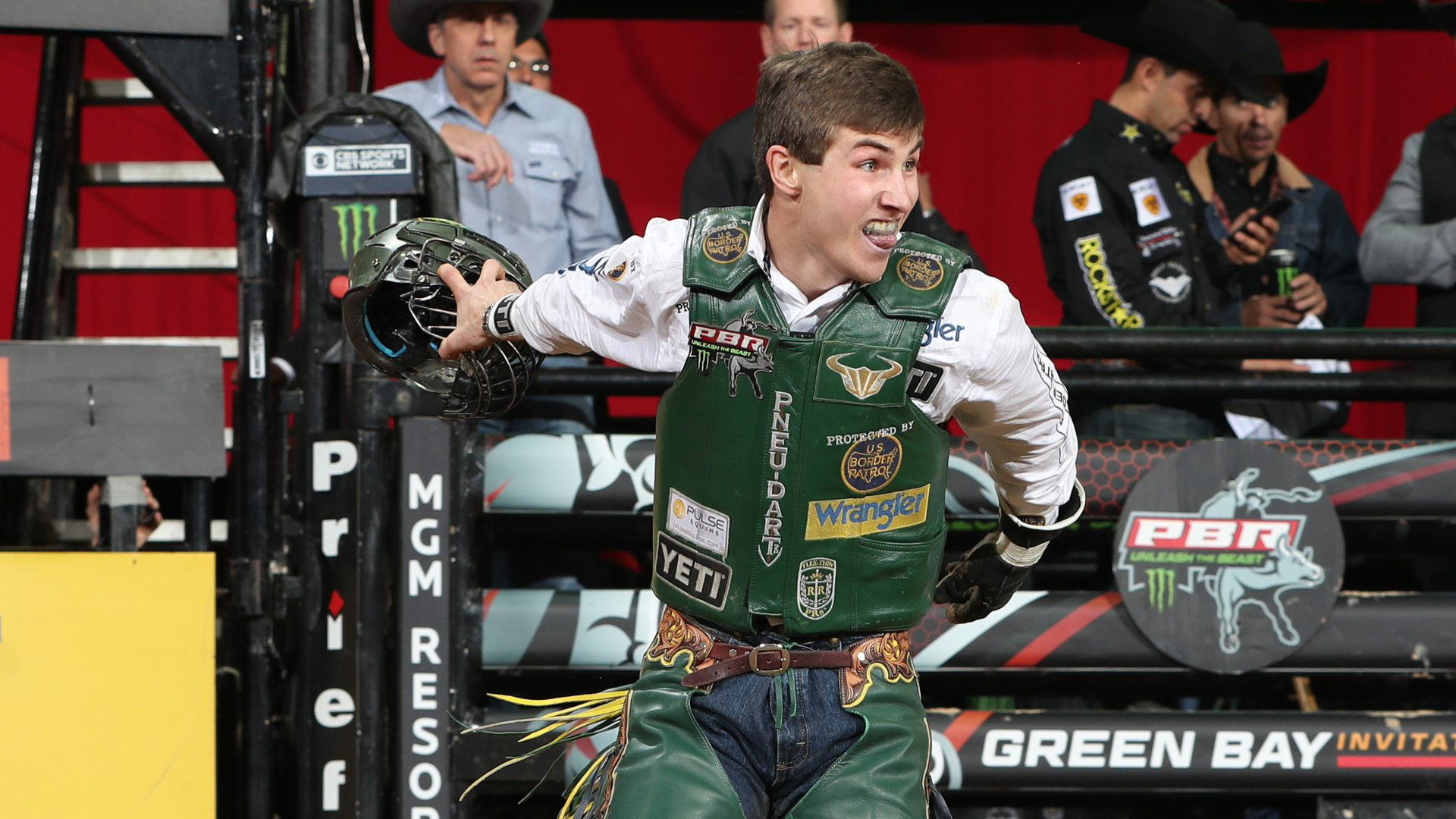 Lockwood comes up short in Green Bay, but still gains 400 points in world title race