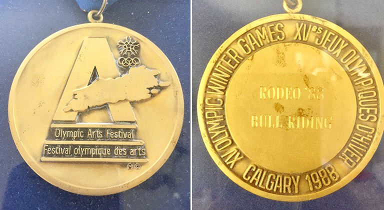 Ted Nuce Olympic gold medal