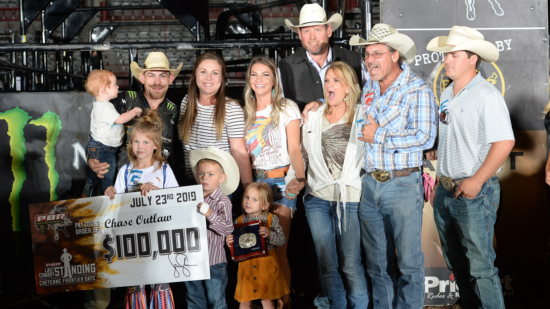Outlaw: 'This has been harder for my family than it is for me'