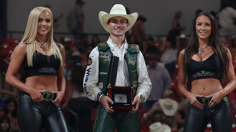 Lockwood goes back-to-back to win Houston Invitational and reclaim PBR world lead