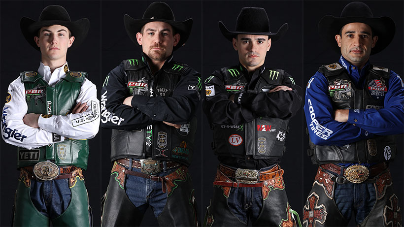 Breaking down the top world title contenders' PBR Major performances heading into Nashville