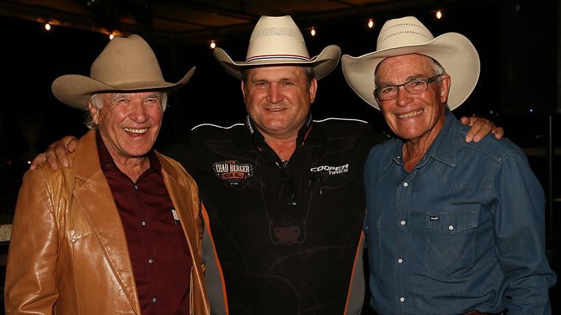 Larry Mahan, Chad Berger, Phil Lyne