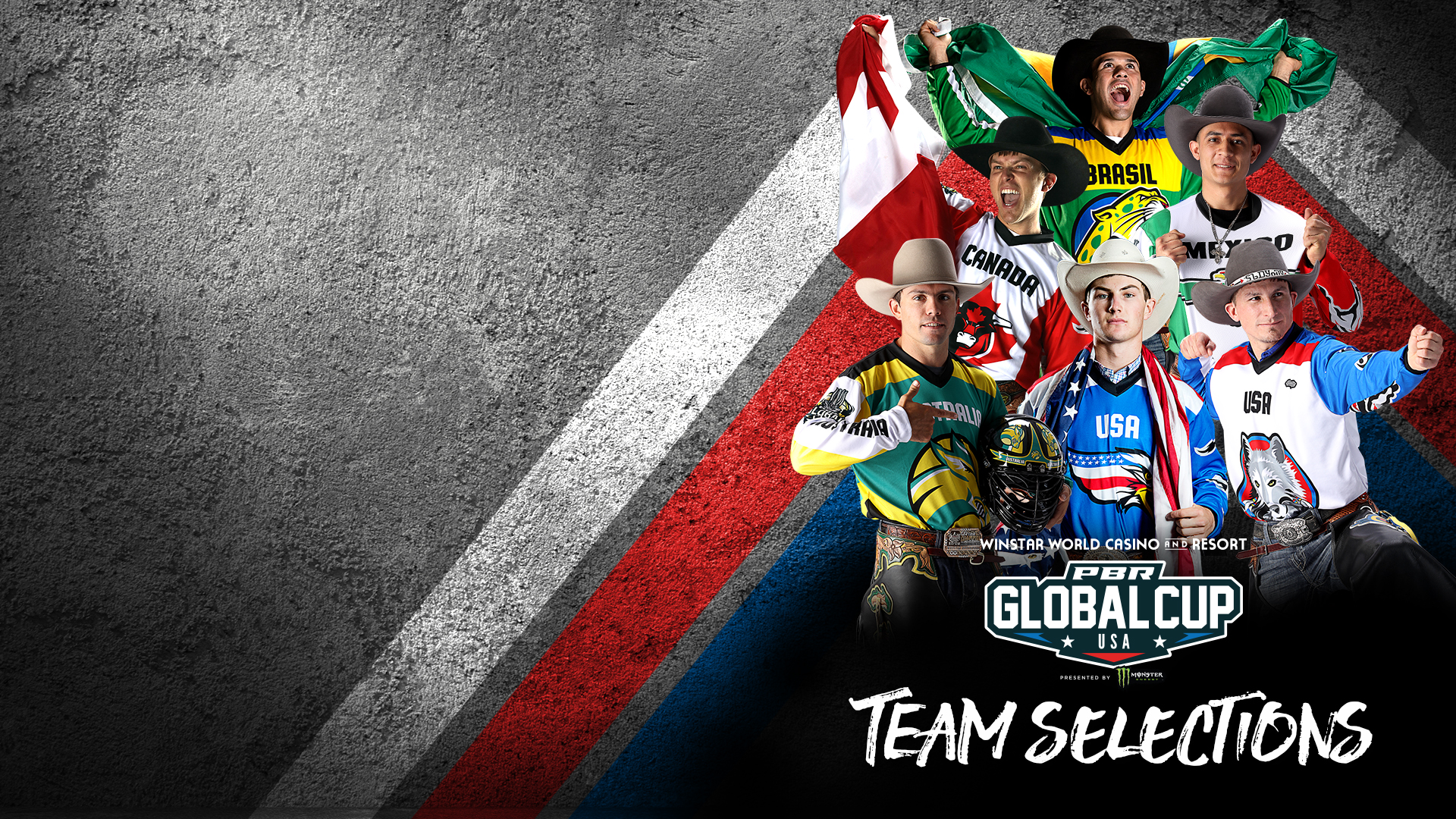 Initial rider selections announced for 2020 PBR Global Cup USA