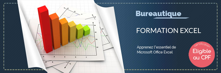 Formation - Formation Excel Initiation - TOSA CPF - TuToClic Formation
