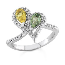 Diamond Vine Ring