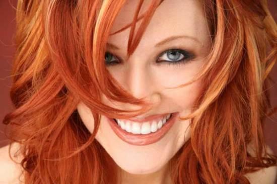 Как выйти в блонд из рыжего