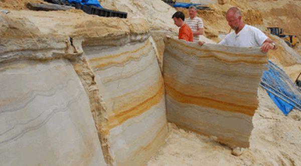 Производство гибкого камня в домашних условиях