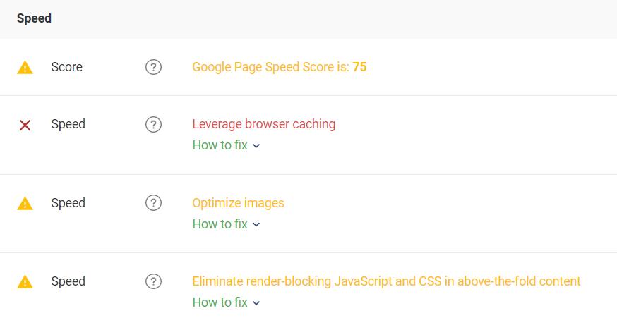Скорость загрузки сайта проверить онлайн