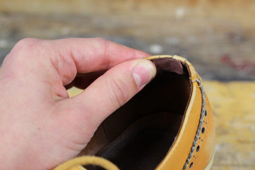 Как растянуть задники в туфлях
