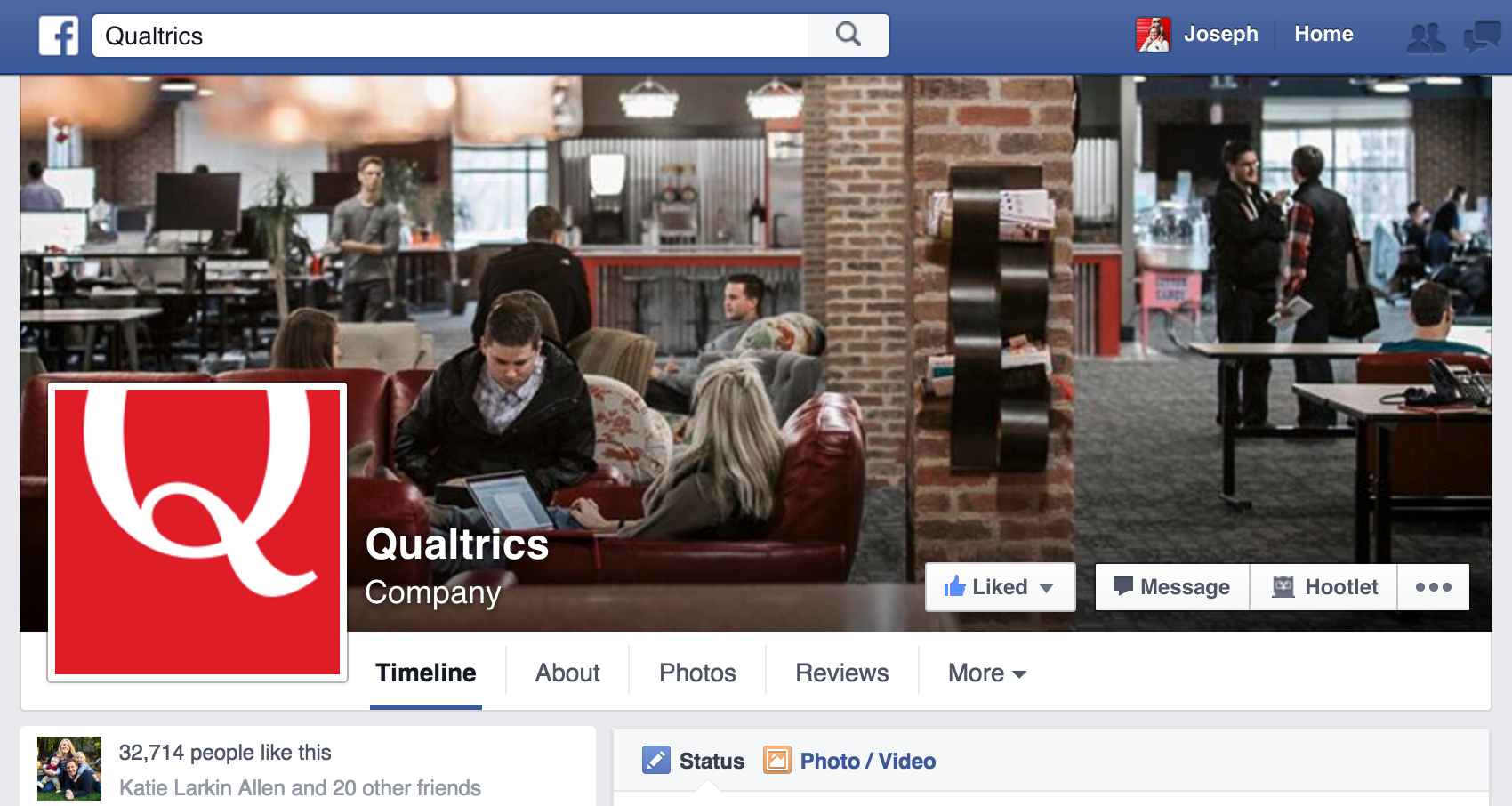 Qualtrics - Facebook