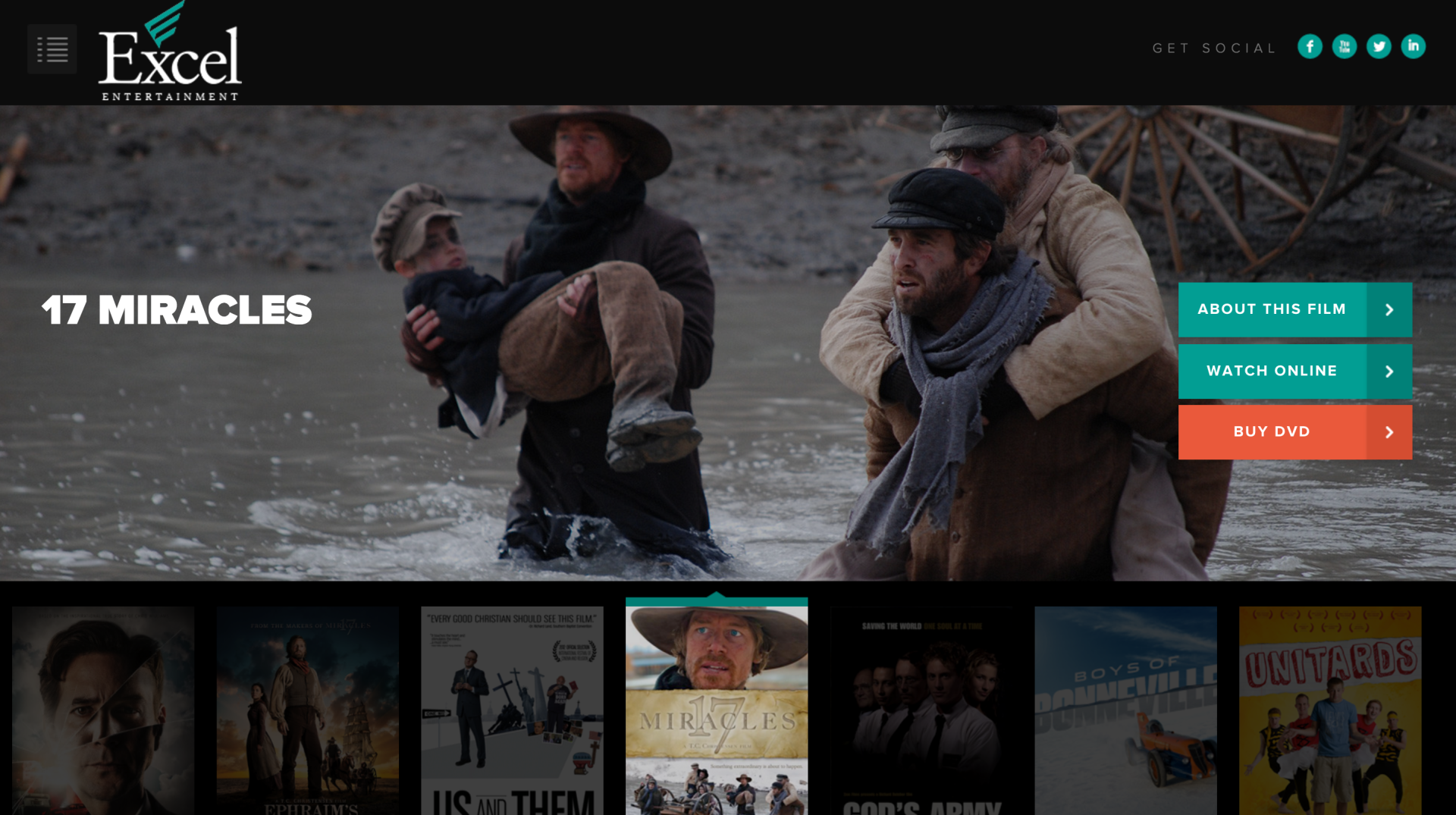 Excel Films - Website