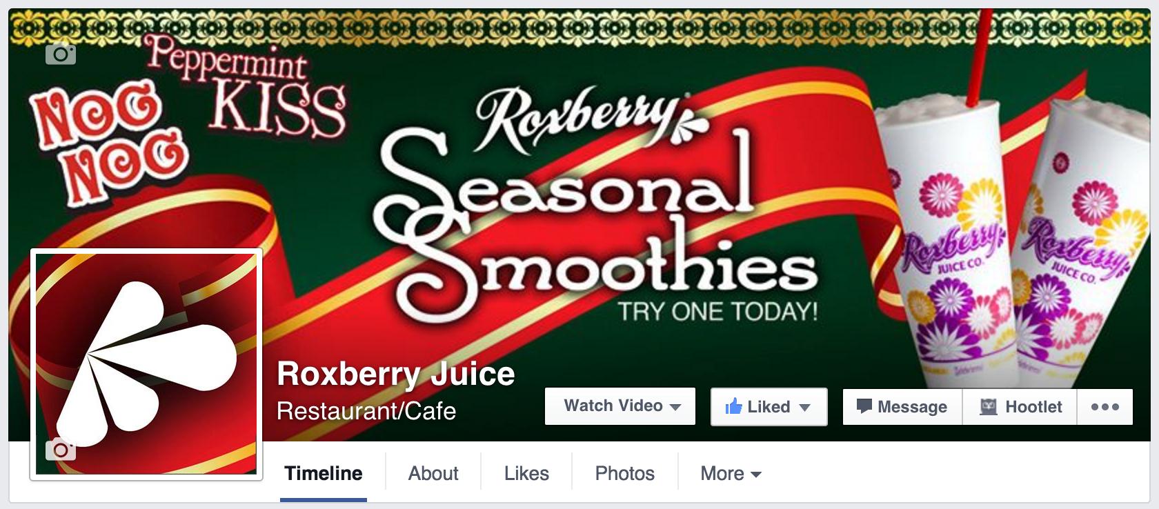 Roxberry Juice - Facebook