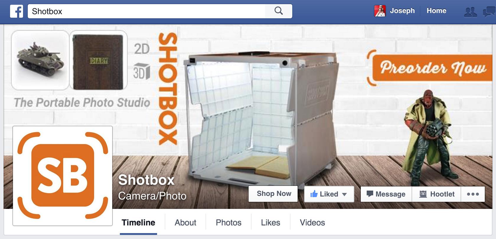 Shotbox - Facebook
