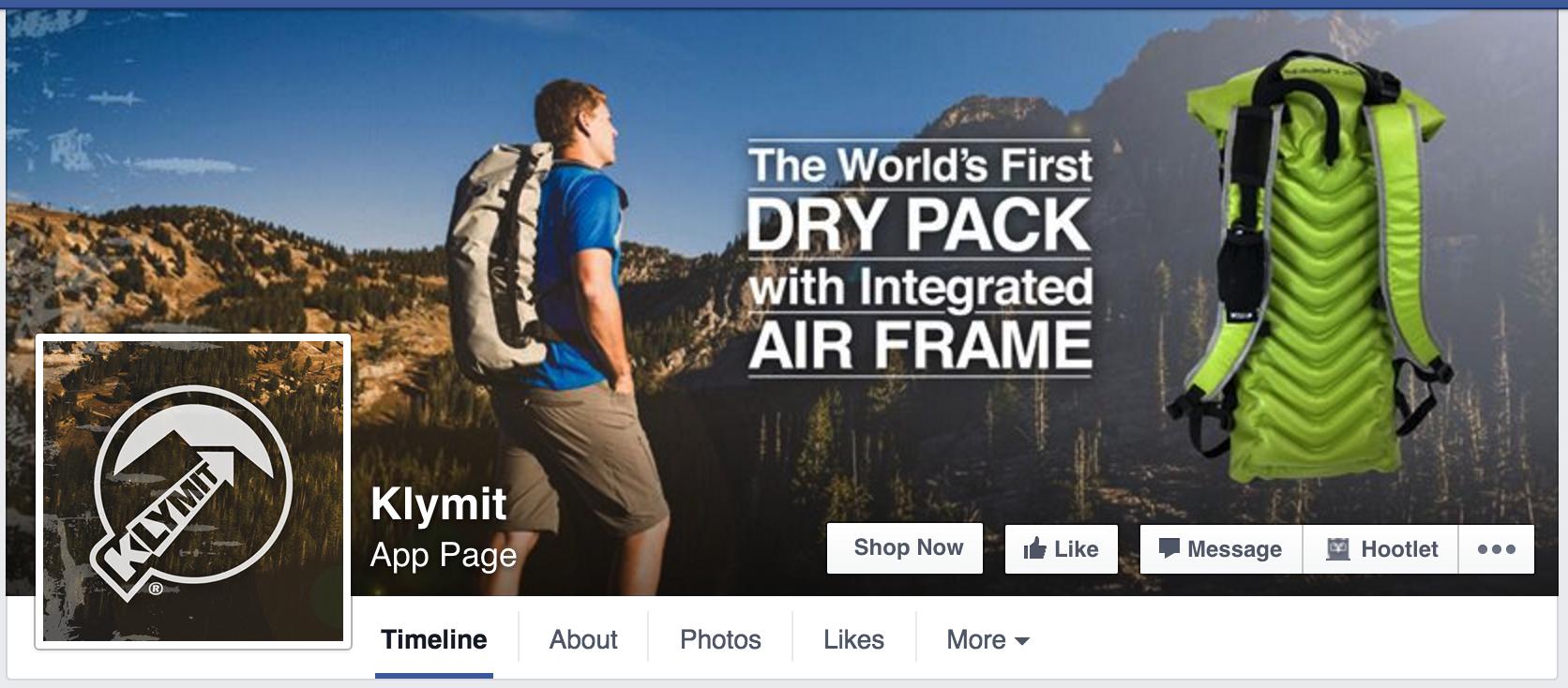 Klymit - Facebook