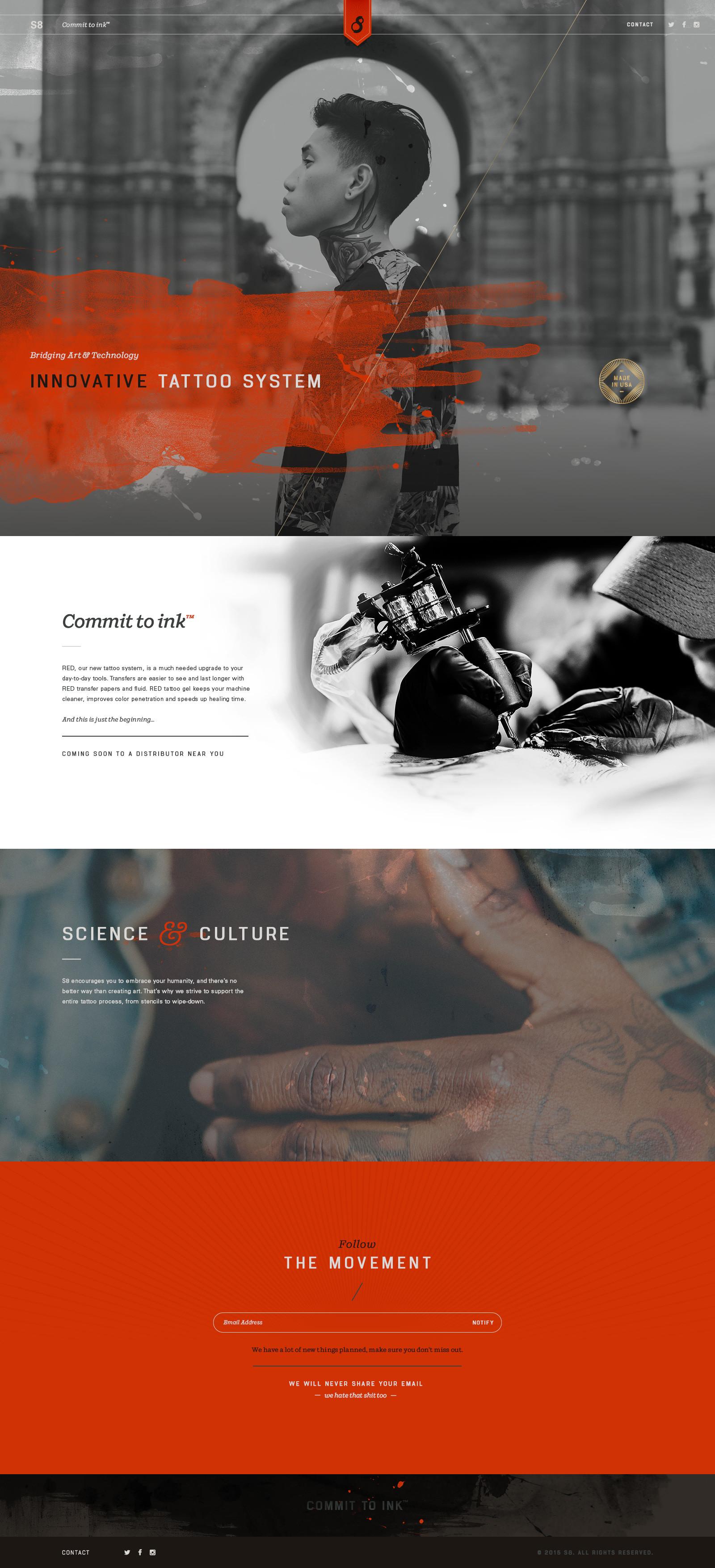 S8 Website