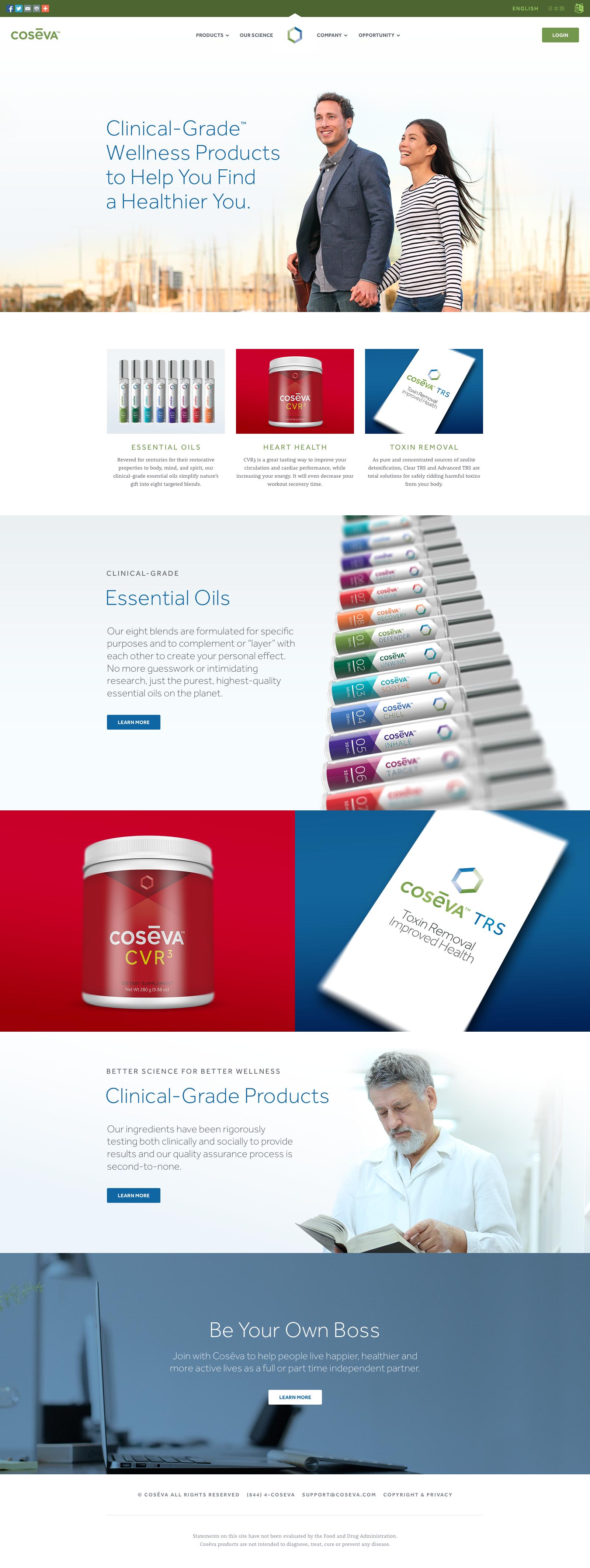 Coseva Website