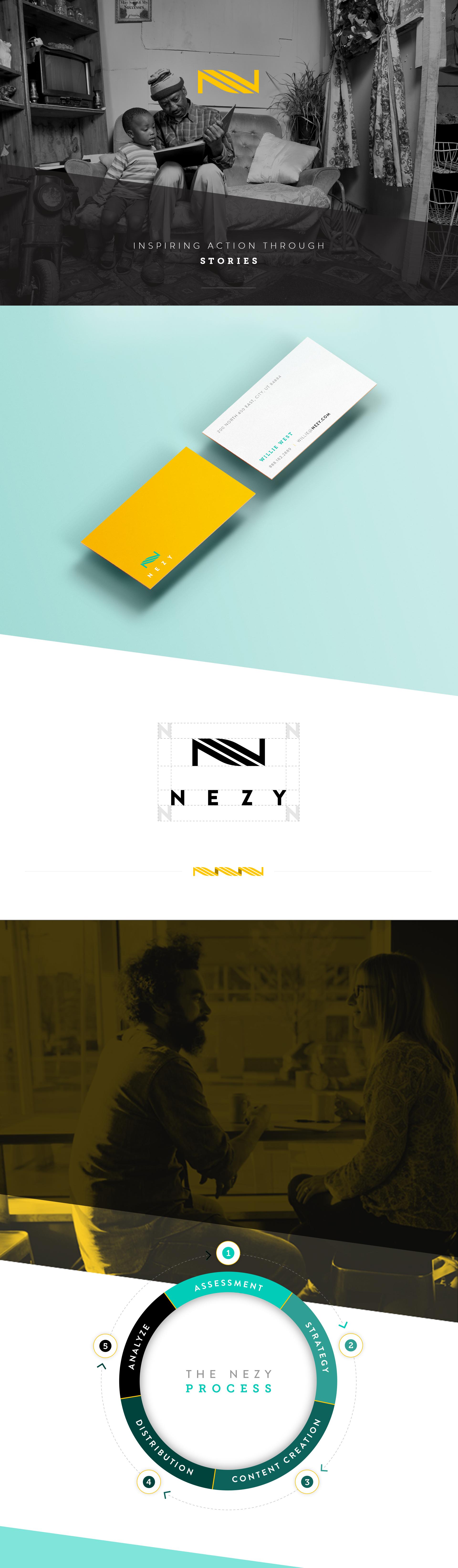 Nezy Brand Identity