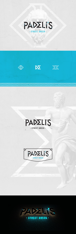 Padeli's Street Greek Brand Identity