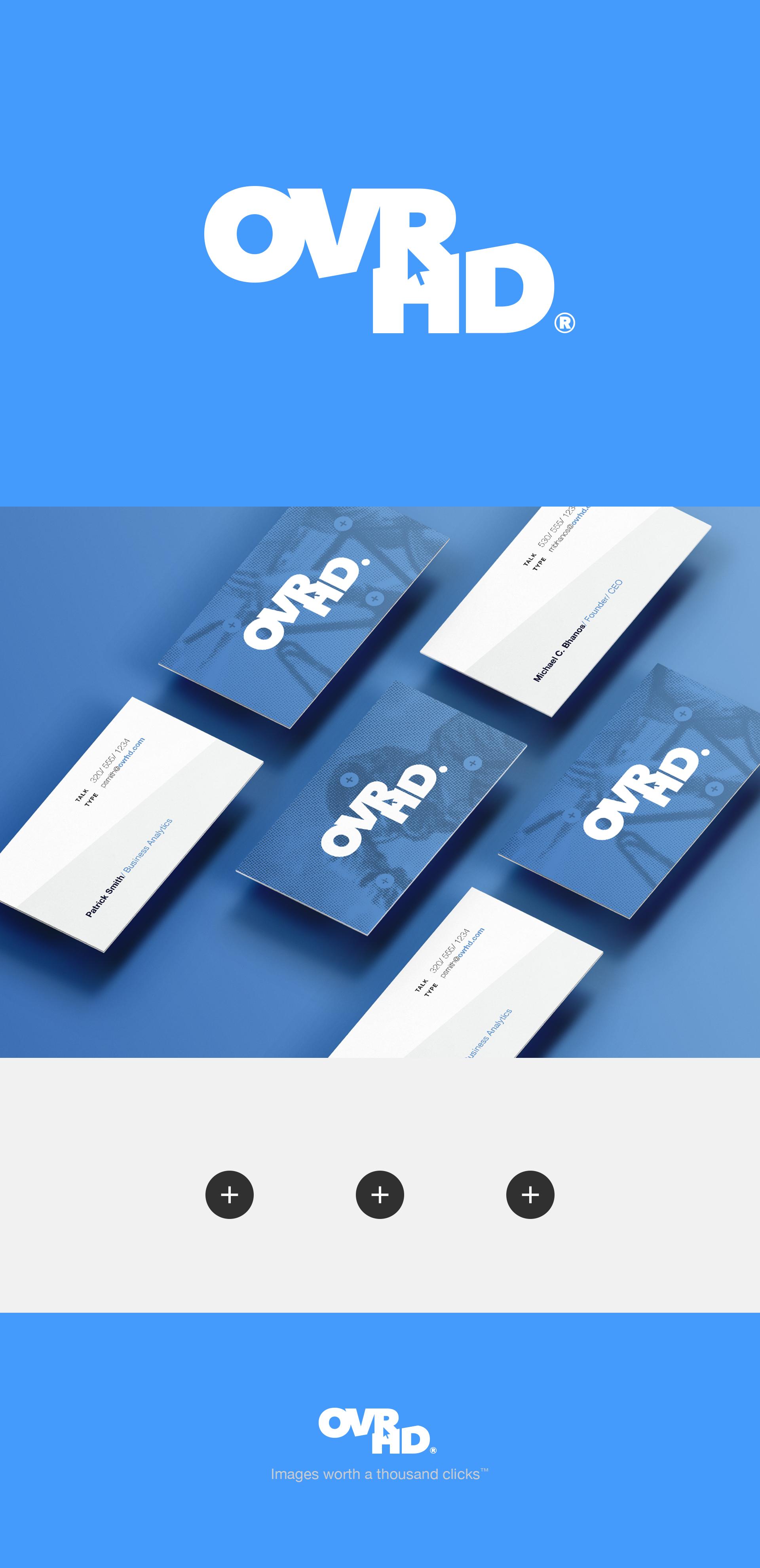 OVR HD Brand Identity