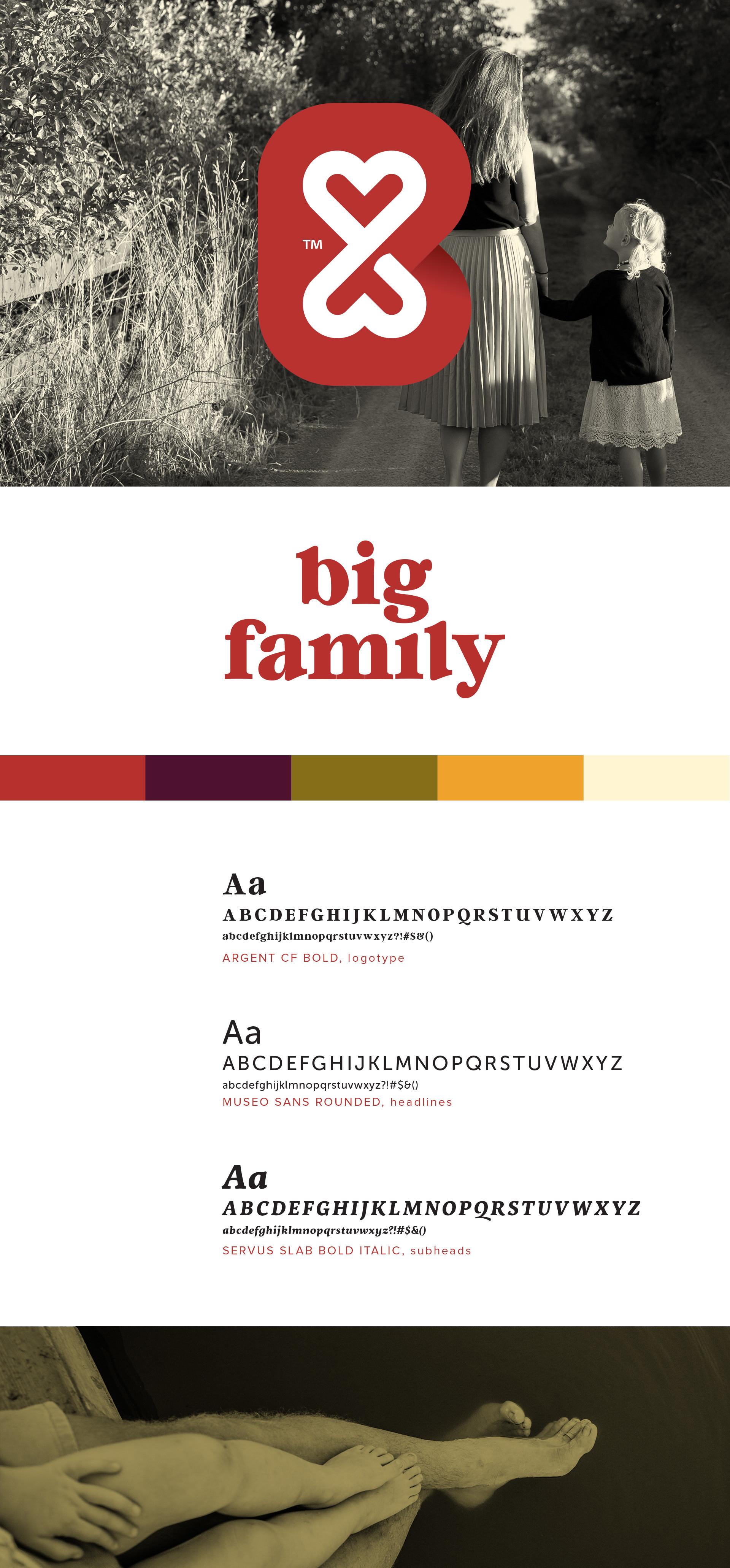 Big Family Brand Identity