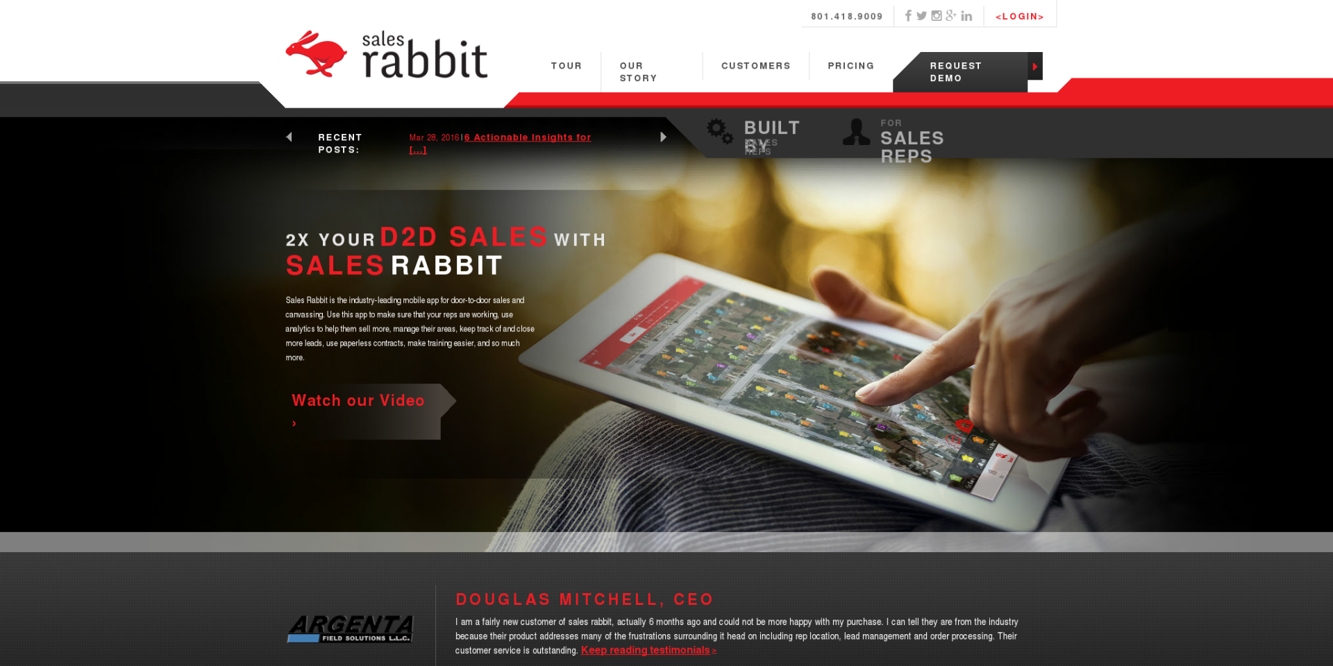 Sales Rabbit - Door-to-Door Sales App
