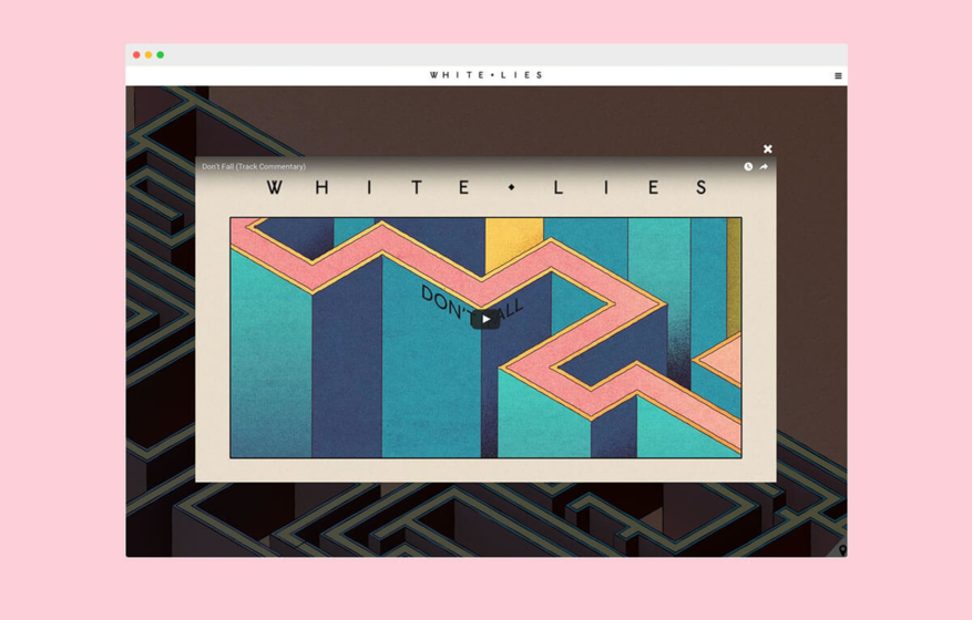 White Lies Official Website