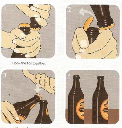 Использование второй бутылки