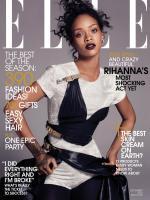 Фотосессия Рианны для журнала Elle за декабрь 2014