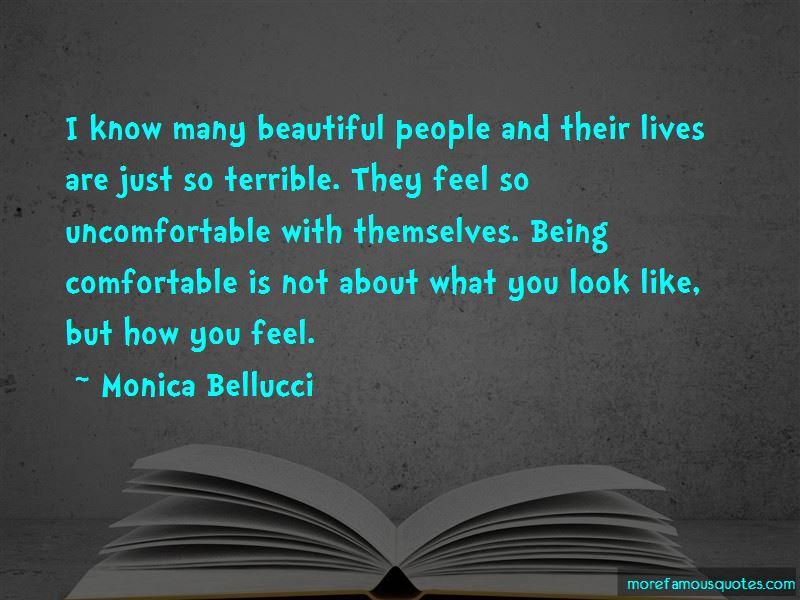 Monica bellucci quotes