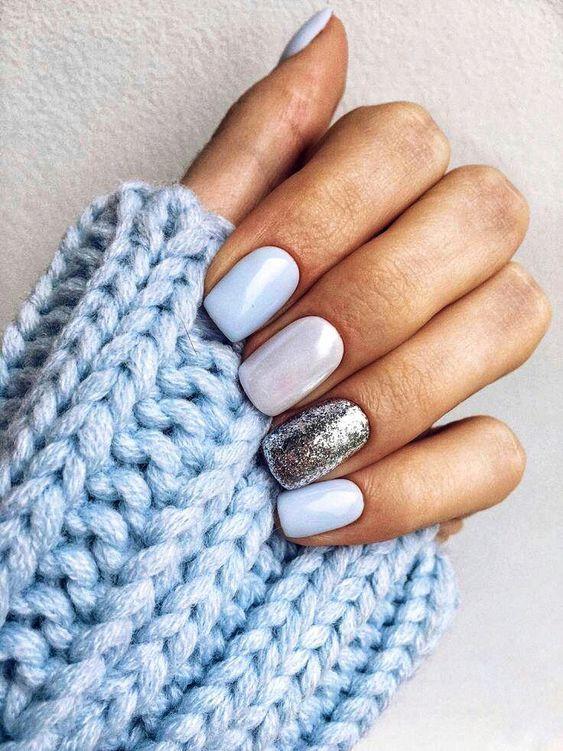 Doing shellac nails