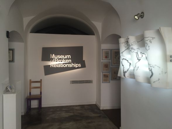 Museum of Broken Relationships in Zagreb - Entrance