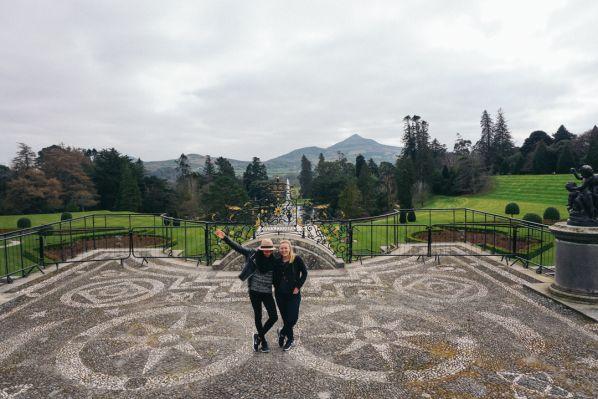 Travel to Powerscourt in Ireland