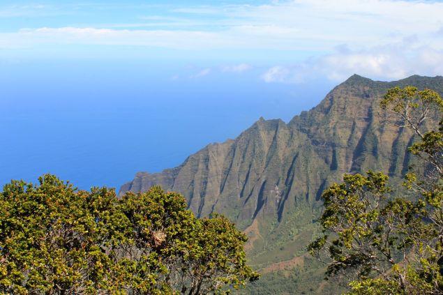 Na Pali Coast lookout