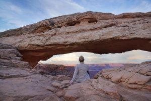 arch at canyonlands national park