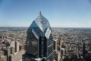 View of Philadelphia from One Liberty Observation Deck